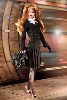 Silkstone BFMC Pretty Pleats Barbie