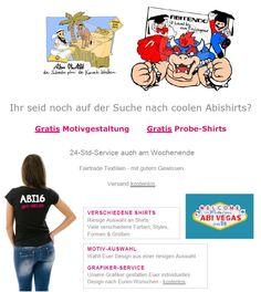 ABISHIRTS - fette Rabatte & Sonder-Preise exklusiv bei GET-ABI.de Jetzt reinschauen & Sponsoren finden - get-ABI.de