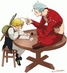 Meliodas and Bon