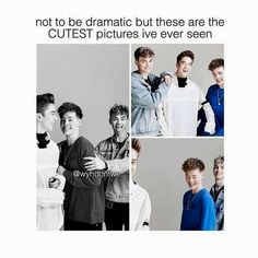 Agreed Bc Zach is in them. Fyi any picture with Zach Herron in it is the best picture Corbyn Besson, Jack Avery, Love My Boys, Love Of My Life, In This World, My Love, Zach Herron, Jonah Marais, Text Imagines