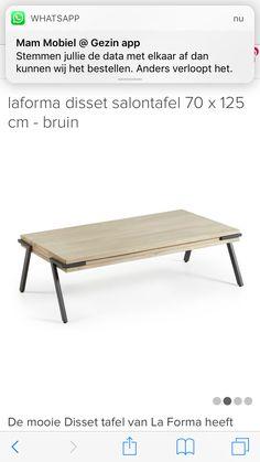 Mooie Donkerbruine Sidetable.Horizons Coffee Table Huis Zitkamer Table Coffee