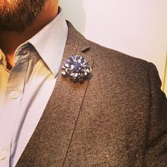 Spots from our blue range #dapper #suave #dapperandsuave #fathersday #groom #boutonniere #lapelpin #dapperman #weddinginspo