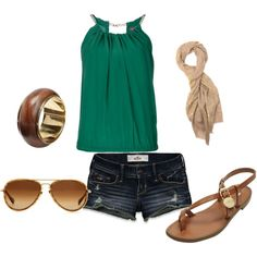 like the outfit but need longer shorts at my age!  lol