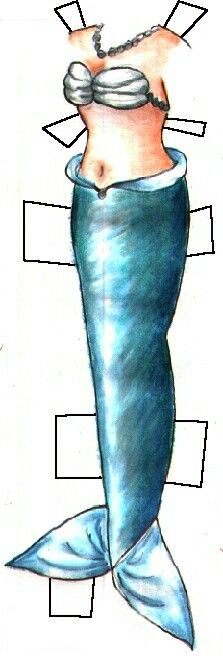 Turquoise Mermaid Tail