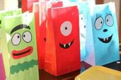 yo gabba gabba party favor bags