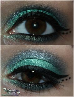 Eye Make Up - Datum: 22.06.2012  http://talasia.blogspot.de/2012/07/amu-swatch-catrice-coolibri-eye-shadow.html