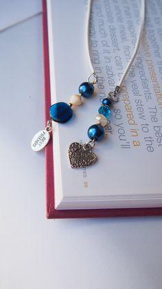 Bookmark  LOVE and  BEST FRIENDS  Handmade  by VitezArtGlassDesign