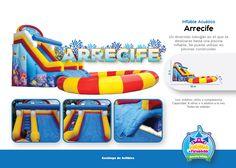 Inflable Acuático Arecife Niños y Adultos Costa Rica  http://www.juegosypiruetas.com/#!inflables-acuticos/cahp