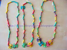 Macarrones Para, Bisuteria Diy, De Collares, Para Niños, Imagen De, Resultado De, Manualidades, Diy Jewelry, Necklaces
