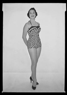 In the 1940s corset manufacturers saw a gap in the undergarments market. Corsetry was losing ground, but the new more revealing swimsuits r...