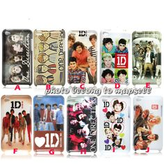 ONE Direction Ipod Touch 4 4th Hard Cover Case Gift 1A1A00600B | eBay