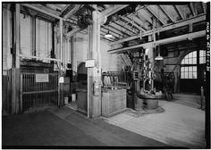 Thomas A. Edison Laboratories, Building No. Essex County, West Orange, Machine Tools, Main Street, Maine, Elevator, Building, Floors, Belts