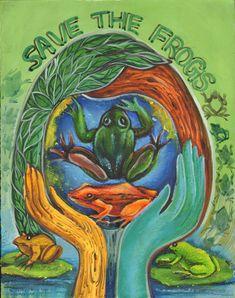Subha Chakroborty Frog Art