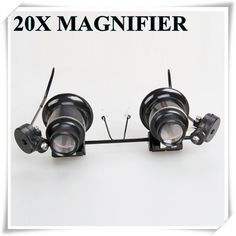'20X Repair Magnifier Glasses /LED Light' is going up for auction at 12pm Fri, Sep 7 with a starting bid of $3.