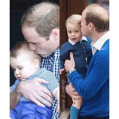 Such a sweet Dad! Love William!!