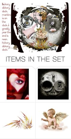 """""""The End is Near?"""" by stonesherry ❤ liked on Polyvore featuring art"""