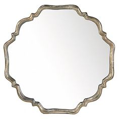 Stunning and refined, our Valour Mirror brings graceful lines and reflective surfaces to your decor.  #ZGallerie  #Mirror