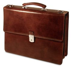 79cc373b120f Jack Georges Sienna Double Gusset Flap Over from District Grain Leather  Accessories