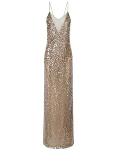 Moonlight Sequin Crossback Gown   Galvan   Avenue32