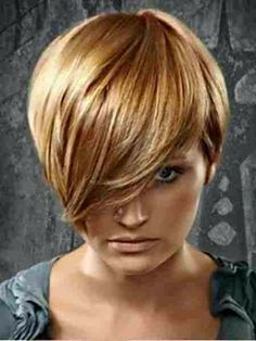 Lovely Copper Blonde Pixie Hair img517d5462a84e71926