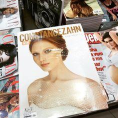 Tem #revistaconstancezahn na Saraiva na Livraria Cultura e na Livraria da Vila de várias cidades do Brasil!!!  by constancezahn