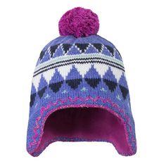 Ethno Pompom Hat
