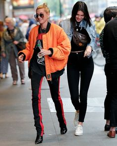 Kendall Jenner: Click image to close this window Justin Bieber Style, Hailey Baldwin Style, Kendall Jenner Outfits, Kylie Jenner, Models Off Duty, Korean Street Fashion, Bikinis, Fashion Models, Celebrity Style