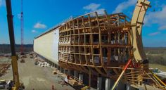 Well Here's Some Drone Footage Of People In Kentucky Building A Real Life Noah's Ark