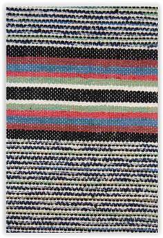 Mustikanvarpu, TaitoSatakunta / Traditional Finnish Rag rug