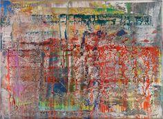 Gerhard Richter Abstract Painting 1990 © Gerhard Richter