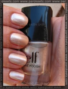ELF moonlight polish, I keep forgetting Elf has polishes, must get some!