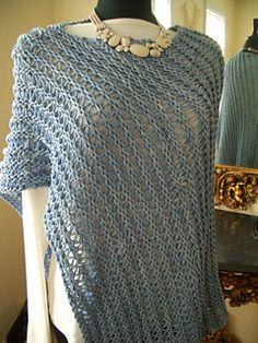 Ridged Wrap pattern by Andra Asars