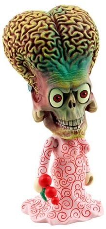 """Toy162 """"Martian Girl (Martian Head)"""" by Tim Burton / Mars Attack! from CosBaby (2009) #Toy"""