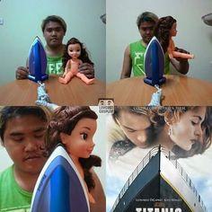 ★★★★★ Imágenes de memes divertidos: El mejor cosplay de Titanic I➨…