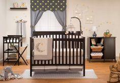 Petite Paradise 4 Piece 2-in-1 Convertible Crib Set