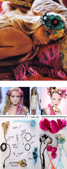 I'm borderline obsessed with these j'amazing bohemian floral headpieces. I can't get enough of this delicious look spotte...
