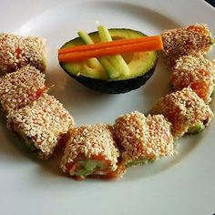 Laxsushi Sushi, Nom Nom, Appetizers, Low Carb, Snacks, Vegetables, Ethnic Recipes, Corner, Food