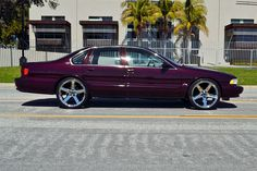 95 Chevy Impala SS- i have a convertigle GMC is making form me brand new! 1996 Impala Ss, Chevy Impala Ss, Chevy Ss, Chevy Girl, Chevrolet Chevelle, Chevy Vehicles, Donk Cars, Ultimate Garage, Chevy Muscle Cars