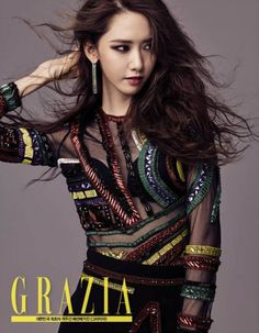 Korean Magazine Lovers (SNSD Yoona - Grazia Magazine September Issue '15)
