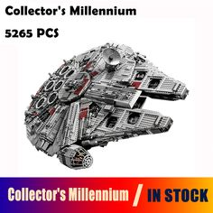 05033 Star 5265Pcs Wars Collector's Millennium Model Falcon Building Kit Blocks Bricks Toy Gift Compatible with lego 10179