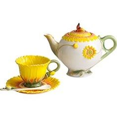 Sunflower Tea Sets