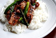 Copycat PF Chang's Mongolian Beef tastes just like PF Chang's version, but is made much healthier, and cheaper, at home!