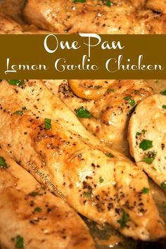 Lemon Garlic Sauce Chicken -  midgetmomma