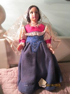 Hey, I found this really awesome Etsy listing at https://www.etsy.com/listing/237004407/vintage-costume-doll-magis-roma-cloth