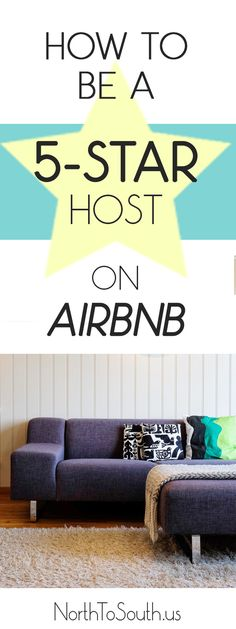 Want to give your Airbnb listing a boost? Attract more travelers with a 5-star hosting average!  #travel #Airbnb