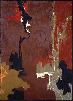 Untitled (1946) by Clyfford Still