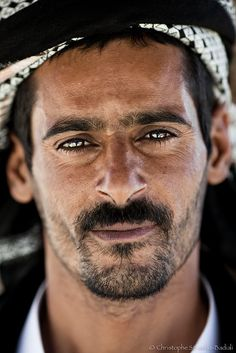 Siwa man, EGYPT - by Christophe Stramba-Badiali