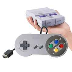 a lot Classic Color Button Style Controller for Super Nintendo classic edition Gamepad for SNES mini console . Click visit to buy Ps4, Playstation, Super Nintendo, Xbox, Nintendo Controller, Snes Classic, Mini, Console, Retro