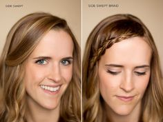 15 Ways to pin back your bangs