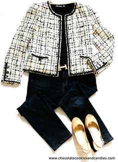 1 Chanel jacket, 3 Outfits